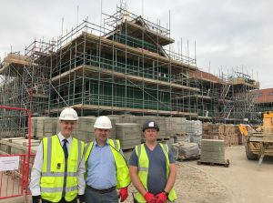 Berkeley Homes Chris Collins, J L O'Rourke Clive Jones, Garrett Dempsey Harmony Timber Solutions Ireland